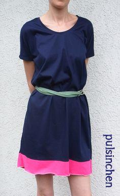 ZusammengeRUMSt! Mein Kleid aus abgewandelter Elaine  