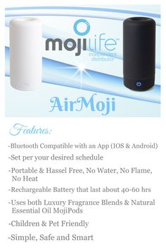 The AirMoji is revolutionary in it's design.it's time to get your. Best Home Fragrance, No Heat, Natural Essential Oils, Decorating Small Spaces, Smell Good, Animals For Kids, How To Get, In This Moment, Life