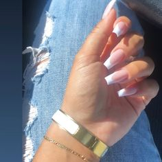 What you need to know about acrylic nails - My Nails French Tip Acrylic Nails, Best Acrylic Nails, Long French Tip Nails, French Tip Toes, Long Square Acrylic Nails, French Acrylics, Long Square Nails, Tapered Square Nails, French Tips