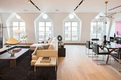 Tribeca Penthouse with Signature Design by Turett Collaborative Architecture