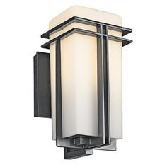 Shop for Kichler Lighting Tremillo Collection 1-light Black Outdoor Wall Lantern. Get free delivery at Overstock.com - Your Online Garden