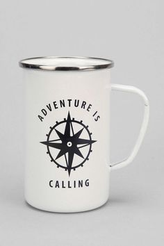 Enamel Mug.  These are the cutest.  I want them for camping <3