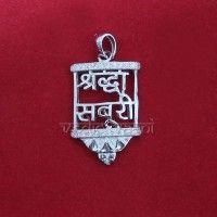 Shraddha Saburi Locket in Sterling Silver