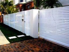 5 Stunning Useful Ideas: Wooden Fence Panels Modern Fence Latch.