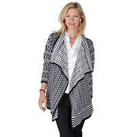 Spanner - - Online Shopping for Canadians Open Front Cardigan, Zig Zag, Summer 2016, Spring Summer, Online Shopping, Canada, Sweaters, Clothes, Inspired