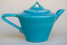 Google Image Result for http://www.vintageamericanpottery.com/fiestaware/1-Vintage_Homer_Laughlin_Harlequin_Turquoise_Teapot_Antique_Fiestaware_Solid_Color_Dinnerware_02.jpg