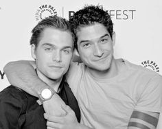 Dylan Sprayberry & Tyler Posey at Paley Fest 2015