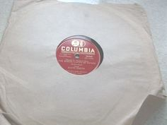 Kate Smith White Cliffs Of Dover 78 RPM Columbia Record Rose O'Day #EasyListening