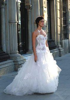 de mariage col en coeur sans bretelle robe de mariée plage  robe de ...