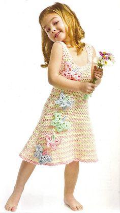 Ravelry: Butterfly Dress pattern by Kim Rutledge