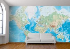 Maps make decorative and beautiful murals for bare walls, but have you ever wanted a more personal map that showed your hometown or your favorite destination? London-based design studio Wallpapered makes just that: custom maps of any place in the world that means something to you.