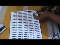 Etiquetas de tecido - YouTube