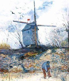 El moulin de la Galette, de Van Gogh