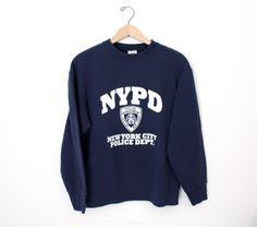 NYPD Vintage Sweatshirt #mfjewels #etsy
