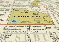 Film Map, A Street Map of Movie Titles