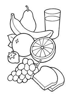 Healthy Plate Of Food Clipart Black And White Fruit Clipart, Food Clipart, Healthy Plate, Healthy Eating, West African Food, Tea Eggs, Chicken And Shrimp Recipes, Healthy Food Delivery, Clipart Black And White