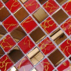 mosaic tile mirror glass