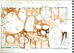 Steven Holl – Concept sketch for Simmons Hall, MIT, Cambridge, 1999-2002