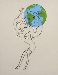 Zoe Barcza, Hysterical Atlas, 2014 on Paddle8