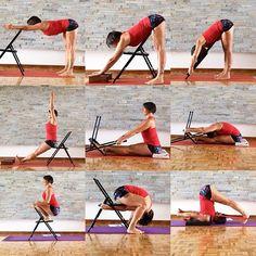 Bringing awareness to the lower back. Learning how to release and extend the back. #ardhauttanasana #uttanasana #uttanasanavariation #paschimottanasana #malasana #kurmasana #forwardbend #iyengar #iyengaryoga #iyengaryoga #iyengarmethod #iyengarteacher #iyengarstudio #iyengarinstagram #yogawithprops #bksiyengaryoga #chairyoga #yogawithchair #practiceyogachangeyourworld #practicemakesprogress #practicewithheart #practice #yogaeveryday #yoga #yogafit #yogapose #yogaworks #yogateacher #namaste
