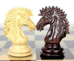House of Chess  Rosewood  Boxwood Chess pieces Encore Staunton 45 114 mm  Triple Weighted 2 Extra Queens  Wooden Storage Box -- Read more reviews of the product by visiting the link on the image.