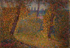 Italian Painters, Pointillism, Nocturne, Good Old, Artsy, Fine Art, Selection, Autumn, Painting