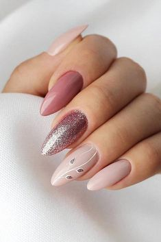 The 100 Trending Early Spring Nails Art designs and colors are so perfect for 20 … - Nail Design Ideas! - The 100 Trending Early Spring Nails Art designs and colors are so perfect for 20 … – Nail Design - Elegant Nail Designs, Elegant Nails, Stylish Nails, Nail Art Designs, Cute Acrylic Nails, Cute Nails, Pretty Nails, Glitter Nails, Spring Nail Art