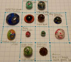 Antique Vintage Paperweight Glass Buttons Lot 12pcs Spectacular | eBay