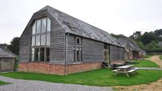 oak frame timber clad agricultural barn - Google Search