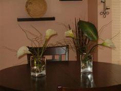 calla lily centerpieces | re calla lily centerpieces i just finished making lily centerpieces ...