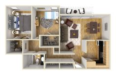 Largest Studio, 1 and 2 BR apartment floor plans in the city with spectacular panoramic views, parking and amenities.