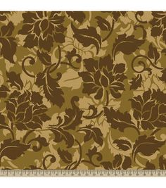 Anti-Pill Fleece Fabric- Floral Shadows