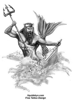 poseidon vs neptune - Google Search