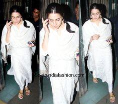 Bollywood Celebrities, Bollywood Actress, Kalamkari Dresses, Desi Wear, Ethnic Looks, Sara Ali Khan, Bollywood Stars, Anarkali, Salwar Kameez
