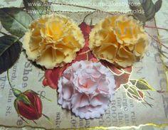 Gumpaste or Fondant Ruffle Flower #4: Ruffle flower part 4 - CakesDecor