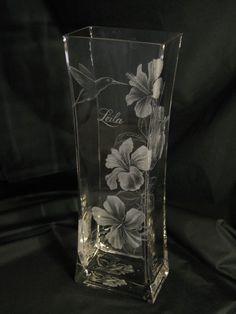 Hibiscus on a huge vase.