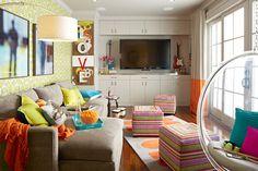 """Danville Teen Hangout Two"". - Kids - San Francisco - ScavulloDesign Interiors"