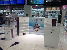 Promoción Gucci Aeropuerto de Barcelona. Agosto 2014