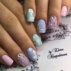 Summer nails photo