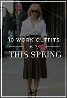 10 Stylish Work Outfits to Try This Spring