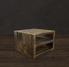Reclaimed Wood Coffee Table  Square/ Reclaimed Wood by AtlasWoodCo, $495.00