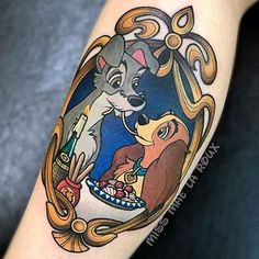 Lady and the Tramp LadyTattooers.com (@ladytattooers) on Instagram: