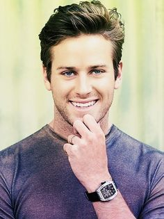 """""""do you find this..... distracting??""""    I can just see him saying this.    armie hammer / finnick odair. the names are interchangable. they ARE the same person."""
