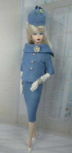 Periwinkle for Silktone Barbie and Victoire Roux
