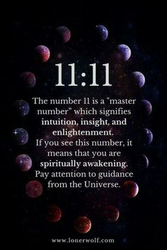 11 11 Meaning: Do You Keep Seeing This Unusual and Powerful Number? ⋆ LonerWolf 11 11 Meaning: Do You Keep Seeing This Unusual and Powerful Number? Angel Number Meanings, Angel Numbers, New Energy, Spiritual Quotes, Spiritual Life, Spiritual Healer, Spiritual Enlightenment, Healing Quotes, Horoscopes