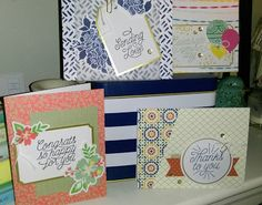 """LynnsLife1203"" ..Australian Stampin Up ! Demonstrator... Card Maker... Paper Crafter: Stampin Up!Project Kit -  Designer Tin of Cards"