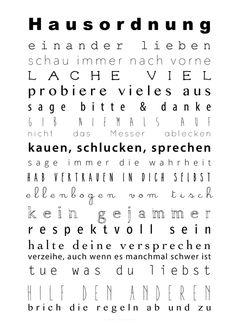 Hausordnung Freebie - Smila´s World - {Shop}