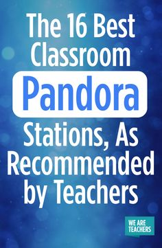 16 Best Classroom Pandora Stations, As Recommended by Teachers Background tunes for quiet work times. Here are 16 of the best classroom Pandora stations as recommended by our teacher community.Background tunes for quiet work times. Here are 16 of the best Middle School Classroom, Classroom Community, Music Classroom, Classroom Playlist, Future Classroom, History Classroom, English Classroom, Science Classroom, Business Education Classroom
