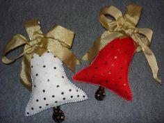 manualidades de navidad en fieltro