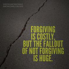 The Price of Unforgiveness - Devotional   Walk in the Word, James MacDonald Bible Teaching